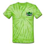 ACES TURBO TIE-DYE T-SHIRT - spider lime green