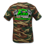 ACES TURBO CAMO T-SHIRT - green camouflage