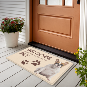 Custom Photo Doormat-Welcome Mats With Your Pet's Photo