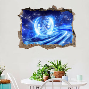 "Planet - Wall Sticker, Wall Decal, Wall Decor - 18""x24"""