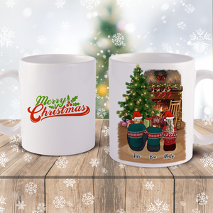 Christmas Family Mug Design Your Christmas Gift