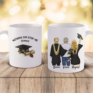 Personalized Mug - Graduation Gifts (online design & 3D preview)