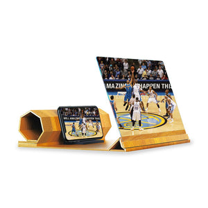 Mobile Phone Screen Magnifier Portable Screen Amplifier with Foldable Stand Creative Gifts