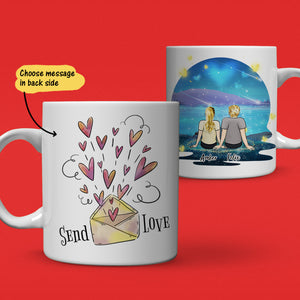 Starry Sky Personalized Lover Coffee Mug - Couple