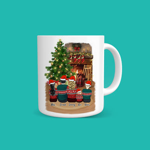 Christmas Family Personalized Coffee Mug