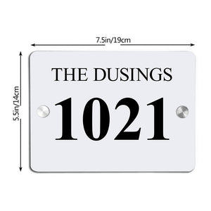 Personalized Door Signs Custom Door Plates House Signs Plates Square