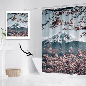 Custom Photo Shower Curtain Bathroom Decoration