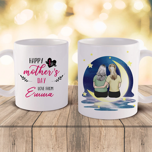 Mother's Day Gifts Mom and Daughter Personalized Lover Coffee Mug