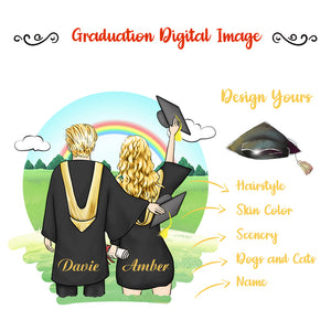 Graduation Digital Image Design Your Own, Share and Get $1 OFF Coupon Code