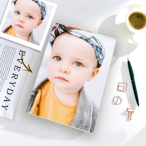 Custom Baby Photo Notebook Personalized Notebook
