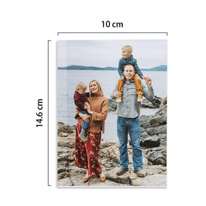 Custom Family Photo Notebook Personalized Notebook