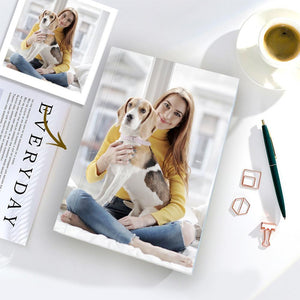 Personalized Notebook Custom Happy Time Photo Notebook