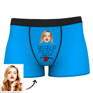 I Licked It Custom Boxer Shorts