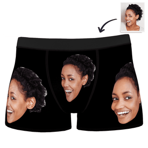 Custom Sexy Girl Boxer Shorts