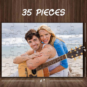 Father's Day Gifts Personalized Photo Jigsaw Puzzle 35-1000 pieces Puzzles