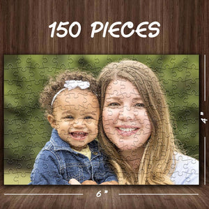 Family Gifts Personalized Photo Jigsaw Puzzle Best Custom Gifts- 35-1000 pieces