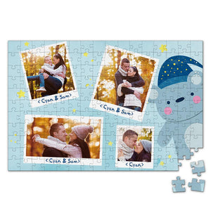 Personalized Photo Jigsaw Puzzle Record Great Moments - 35-500 pieces