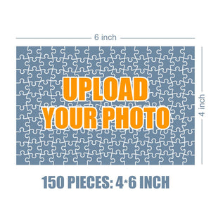 Personalized Photo Jigsaw Puzzle Good Morning Baby - 35-500 pieces