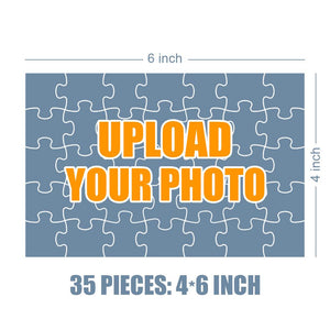 Personalized Photo Jigsaw Puzzle Dogs Are Our Life Partner - 35-500 pieces