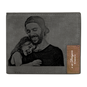 Men's Custom Photo Wallet - My Tender Father