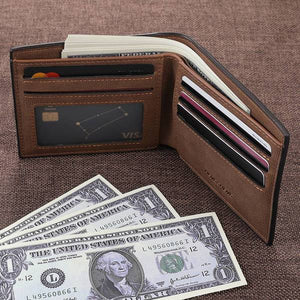 Custom Photo Wallet | Personalized Wallet | Men's Bifold Wallet