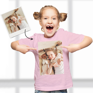 Custom Photo Kid T-Shirt,2-6 years old Cotton T-Shirt