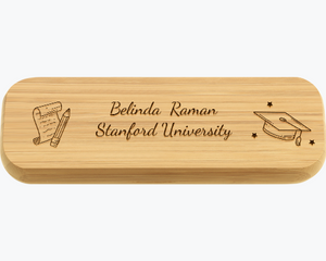 Graduation Gifts - Custom Wooden Pen Stationery Solid Wood Creative giftGifts