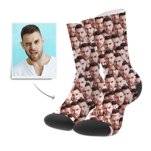 Father's Day Gifts - Custom Face Mash Socks