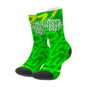 Happy St. Patrick's Day Socks