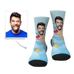 Custom Baby Face Socks - Myfacesocksau