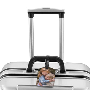 Custom Photo Luggage Tag  for Best Friends