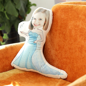Beautiful Girl Romatic Comfortable Cute Pillow