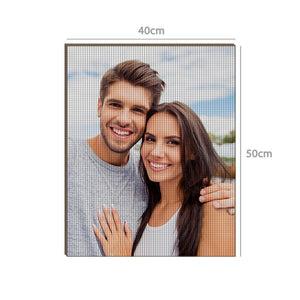 Gifts for Her Custom Lover Photo DIY Diamond Painting Stay Fun at Home