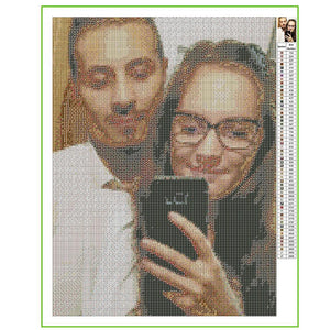 Gifts for Her Custom Photo DIY Diamond Painting Stay Fun at Home
