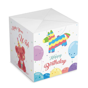 Personalized Surprise Box Photo Surprise Explosion Bounce Box DIY - Happy Birthday