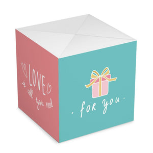 Personalized DIY Gifts, Amazing Surprise Explosion Bounce Box Always Love You