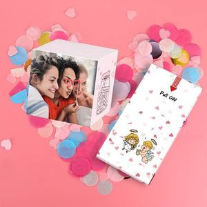 Personalized Surprise Box Photo Surprise Explosion Bounce Box DIY - Cute Baby