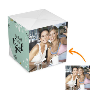 Personalized Surprise Box Photo Surprise Explosion Bounce Box DIY - Thank You