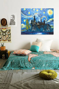 "Van-Gogh Starry Night - DIY Paint by Numbers Kit - 16""x20"""