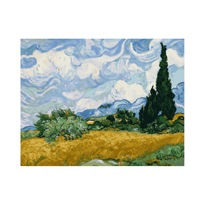 "Van-Gogh Sky - DIY Paint by Numbers Kit - 16""x20"""