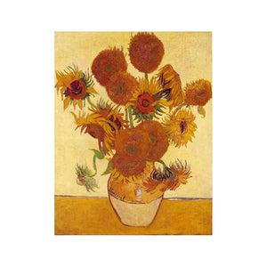 "Van-Gogh Sunflower - DIY Paint by Numbers Kit - 16""x20"""