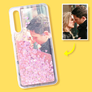 Huawei Custom Quicksand Photo Phone Case Huawei P20 pro