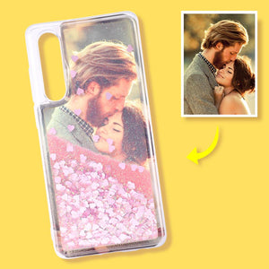 Huawei Custom Quicksand Photo Phone Case Huawei P30