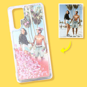 Huawei Custom Quicksand Photo Phone Case Huawei P30 pro