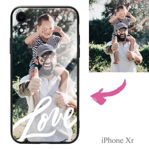 iPhoneXr Custom Love Photo Protective Phone Case