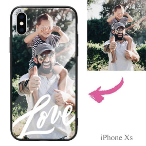 iPhoneXs Custom Love Photo Protective Phone Case