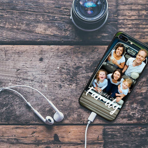 Custom We Are Family iPhone Case