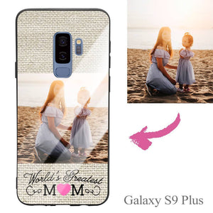 Galaxy S9 Plus Custom Mom Photo Protective Phone Case