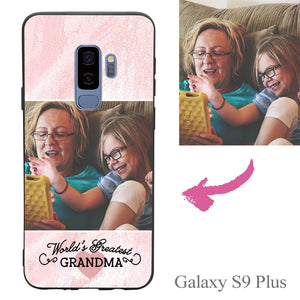 Galaxy S9 Plus Custom Grandma Photo Protective Phone Case