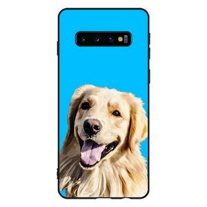 Custom Pets Portrait Samsung Galaxy Case